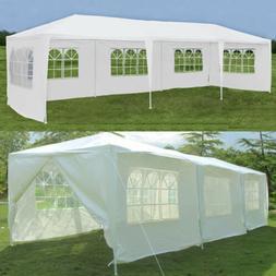 10'x20'/30' Outdoor Canopy Party Wedding Tent Heavy duty Gaz