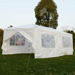 10'x30'Canopy Party Wedding Outdoor Tent Heavy duty Gazebo P