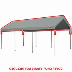 King Canopy 10 ft x 20 ft Silver Drawstring Carport Canopy C