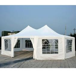 Outsunny 29' x 20' Large 10-Wall Event Wedding Reception Gaz