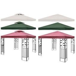 10' x 10' 1-Tier or 2-Tier Garden Patio Outdoor Canopy Top R