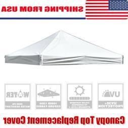 10' x 10' EZ Pop Up Canopy Top Replacement Instant Patio Gaz