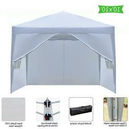 10 x 10 FT EZ Pop UP Party Tent Outdoor Canopy Folding Gazeb
