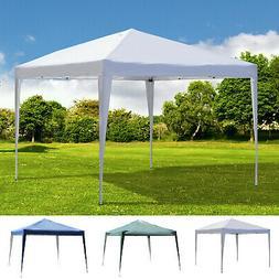10' x 10' Pop Up Gazebo Canopy Party Tent with  Storage