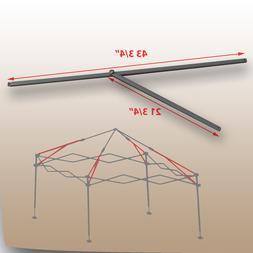 Coleman 10 x 10 Straight Leg Canopy/Gazebo 2 PEAK TRUSS Bars