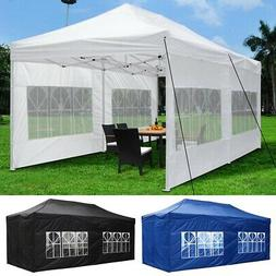 10x20 EZ Pop Up Canopy Patio Outdoor Wedding Shelter Shade T
