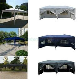 10'x 20' EZ Pop Up Canopy Wedding Party Tent Folding Gazebo