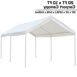 KdGarden 10 x 20 ft. Carport Car Canopy Portable Garage Shel