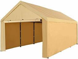 Abba Patio 10 x 20 ft Carport Heavy Duty Carport with Remova