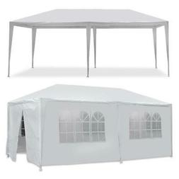 10 x 20' Outdoor Gazebo Party Tent with 6 Side Walls Wedding