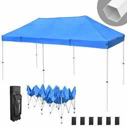 10' X 20' Outdoor Patio Gazebo EZ POP UP Party Tent Wedding