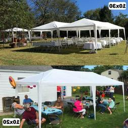 Quictent 10x30/20 White Heavy Duty Wedding Party Tent Outdoo