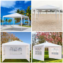 10'x10'/ 3 Sidewalls Canopy Party Pop UP Tent Outdoor Heavy