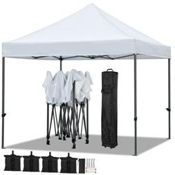 10'x10' Commercial Pop Up Tent Canopy Waterproof Party Weddi