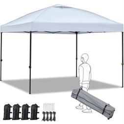 10'x10' Ez Outdoor Pop Up Canopy Party Commercial Folding Te