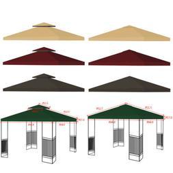 10'x10' Gazebo Tent Top Canopy Replacement Sunshade Patio Ou
