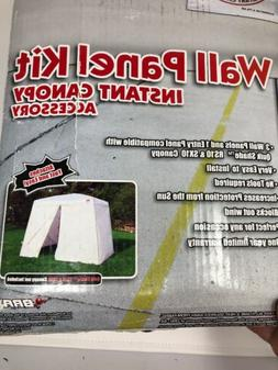 Quik Shade 10'x10' Instant Canopy Wall Panel Kit with Zipper