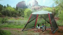 COLEMAN 10'X10' INSTANT SCREENHOUSE SUNSHADE CANOPY  CAMPING