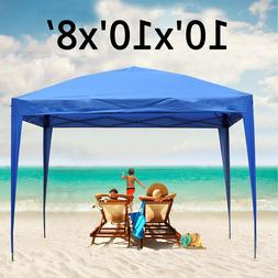 10'X10'Pop Up Canopy Tent  Beach Gazebo Party Shade Foldable