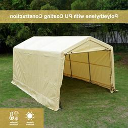 10 x15 x8 ft storage shed tent