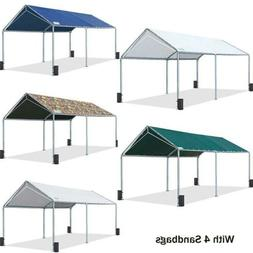 Quictent 10'x20' Carport Canopy Outdoor Heavy Duty Car Shelt