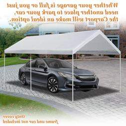10'x20' Carport Replacement Canopy Cover for Tent Top Garage