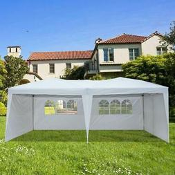 10'X20' EZ POP UP Wedding Tent Party Foldable Gazebo 4 Walls