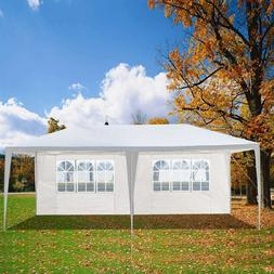 10'x20' Party Wedding Tent Foldable Outdoor Canopy Gazebo Pe