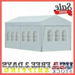 10'X20' White Temporary Portable Garage Carport Car Shelter