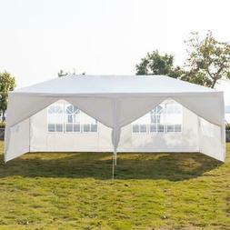 10x 20ft Heavy Duty Party Tent PE Gazebo Wedding Canopy w/6
