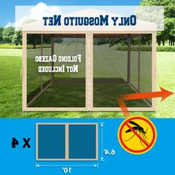 8',10',13' 4Pcs Mesh Sidewall Canopy Tent Commercial Zippere