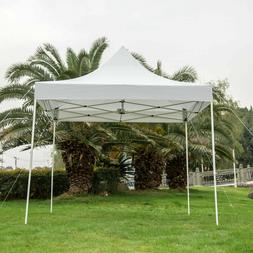 10x10' Commercial EZ Pop Up Canopy Folding Wedding Party Ten