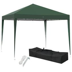 10x10 EZ Pop Up Canopy Portable Garden Gazebo Party Wedding