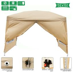 10x10 Ft Pop Up Outdoor Party Wedding Tent Patio Gazebo Cano