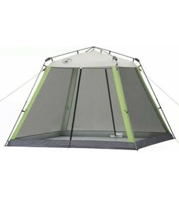 Coleman 10x10 Instant Canopy Screen House Shade Tent Beach C