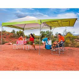 Coleman 10X10 Instant Canopy with Swing Wall Tent Shade outd