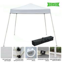 10x10 Outdoor Yard Patio Beach Pop Up Canopy Tent Awning Gaz