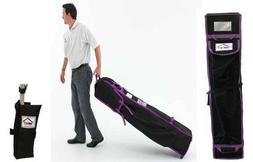 10x10 Pop Up Canopy Tent Universal Wheeled Roller Bag Tent W