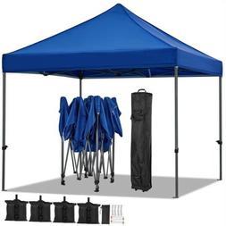 10x10' Pop UP Canopy Wedding Party Tent Folding Waterproof G