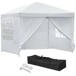 10x10'Pop UP Canopy Wedding Party Tent Folding Pavilion Gaze
