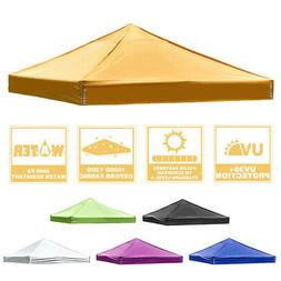 10x10ft Pop Up Canopy Top Replacement Gazebo Patio Sunshade