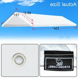 10x20' Carport Replacement Canopy Tent Top Garage Cover w Ba