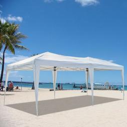 10x20' EZ POP UP Canopy Gazebo Folding Wedding Party Event T
