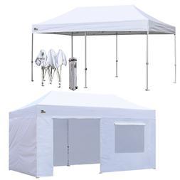Ez Pop Up Canopy 10x20 Outdoor Instant Weeding Party Tent W/