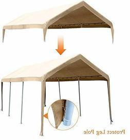 Abba Patio 10x20 Feet Carport Top Canopy Cover Garage Shelte