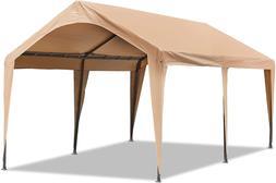 Abba Patio 10x20 ft Heavy Duty Carport Car Canopy Portable G