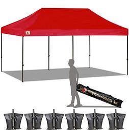 ABCCANOPY 10x20 Straight Leg Pop-up Canopy Commercial Grade