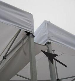 ZORO SELECT 11C557 Rain Gutter Canopy Connection