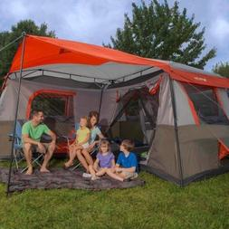 Ozark Trail 16x16-Feet 12-Person 3 Room Instant Cabin Tent w