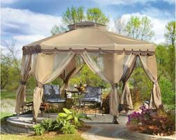 12 x 12 Outdoor Gazebo Patio Furniture Garden Canopy Travel